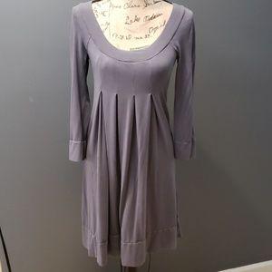 Splendid grey baby doll dress xs